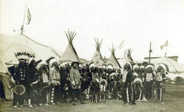 Image from Buffalo Bill's Wild West Show, circa 1890